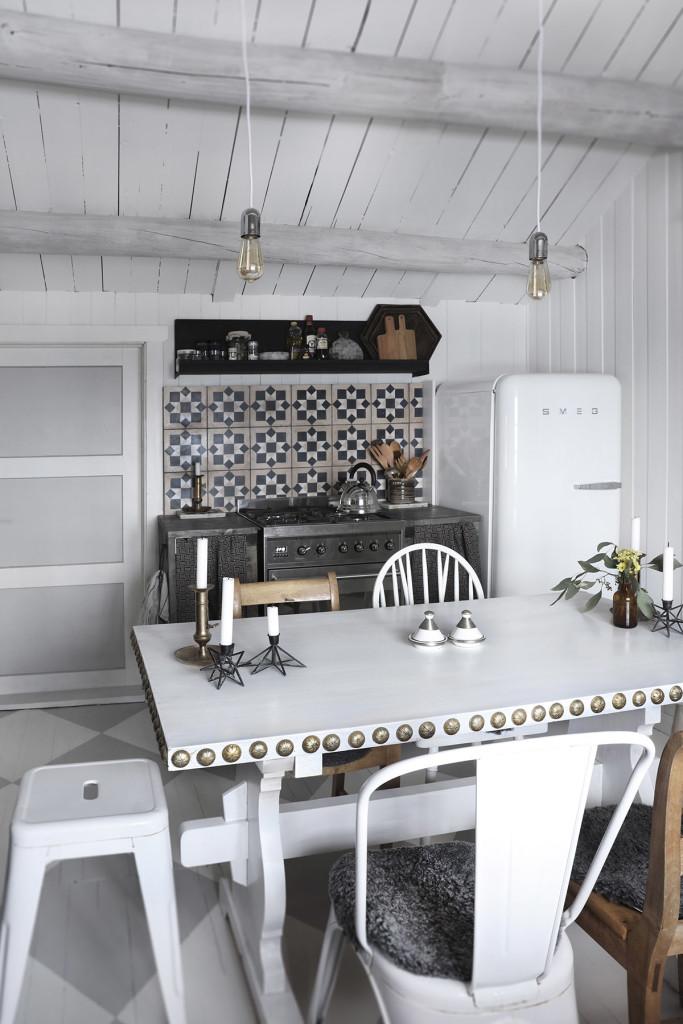 Deco cuisine scandinave la redoute couleurs pastels au for Deco cuisine scandinave
