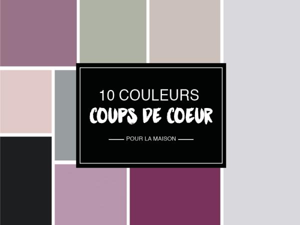 10 couleurs trendy pour réveiller son intérieur