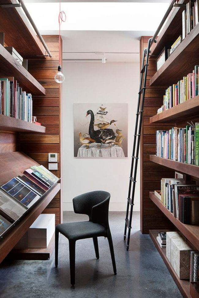 Exposer ses livres comme dans une bibliothèque