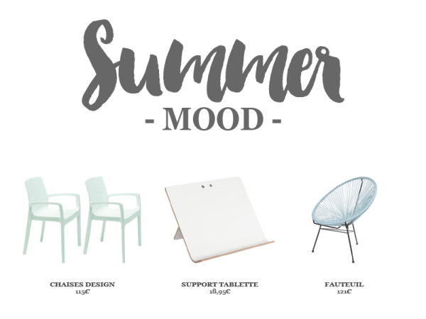 [ WISHLIST ] Summer mood chez Declikdeco…