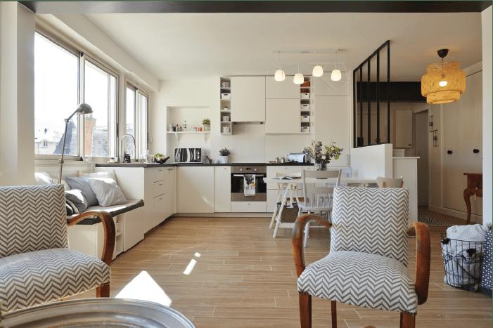 Un appartement rénové à Orsay (Essonne) par L'Atelier d'à Côté sur @decocrush - www.decocrush.fr