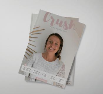 Crush Magazine – Vol. 01 est disponible !