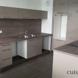 Cuisine fonctionnelle dans un appartement en location (@cuisishop)