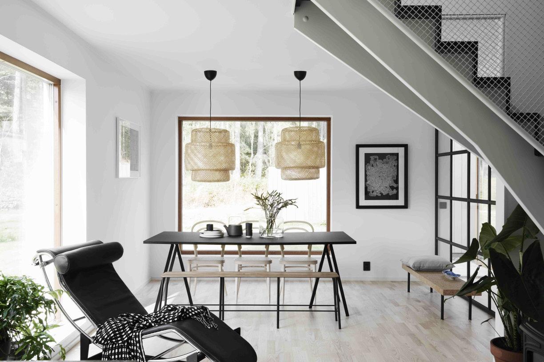une grande maison scandinave simple mais cozy decocrush. Black Bedroom Furniture Sets. Home Design Ideas