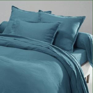 Linge de lit en lin pas cher