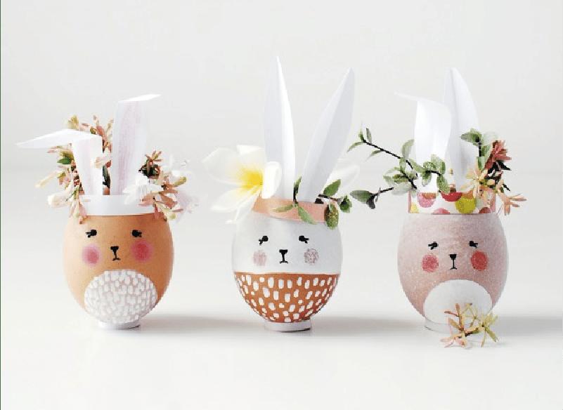 Pâques : 5 idées déco décalées ultra faciles !