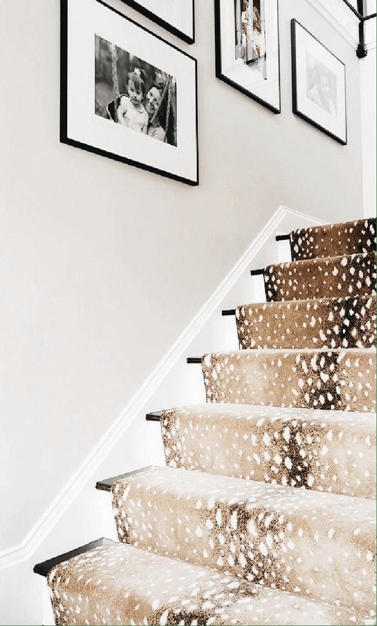 Antilope : la nouvelle tendance wild pour des escaliers super chic et cozy - @decocrush - www.decocrush.fr
