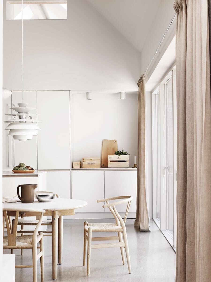 Idées déco pour une ambiance scandinave très chic dans la cuisine sur @decocrush - www.decocrush.fr