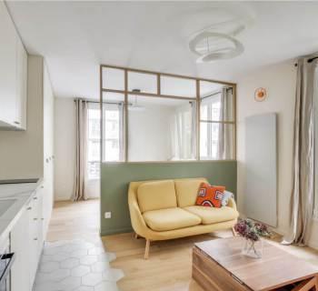 Un appartement parisien de 31 m2 entièrement rénové