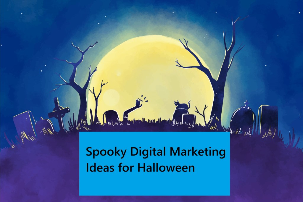 halloween digital marketing ideas