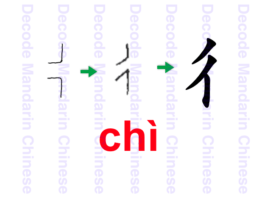 Characters formed by the semantic component 彳express meanings related to walking, road, distance, human behaviors, foot movements, etc.