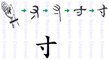 Component 寸, 手 hand III