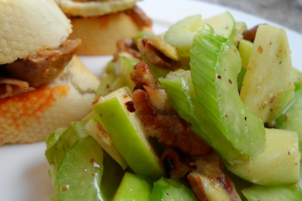 Crisp Celery Apple Salad 2