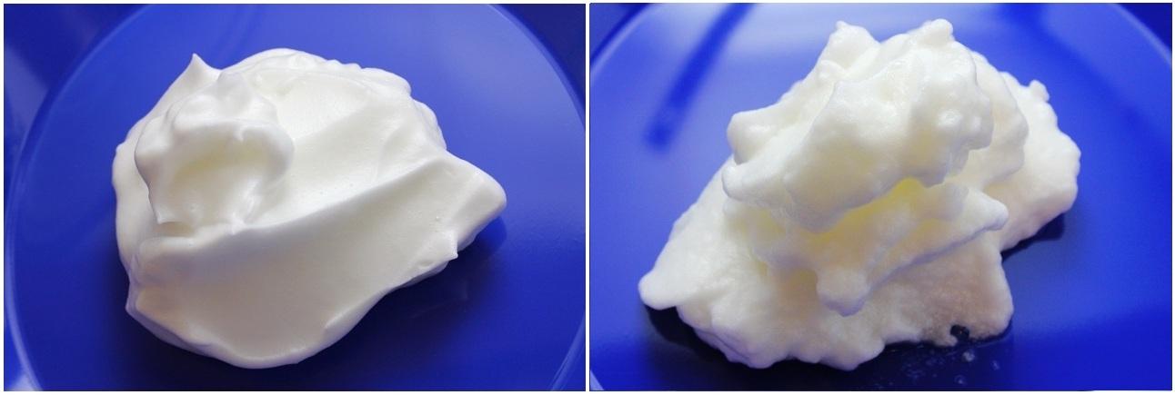 Egg Foam (with cream of tartar; with salt)