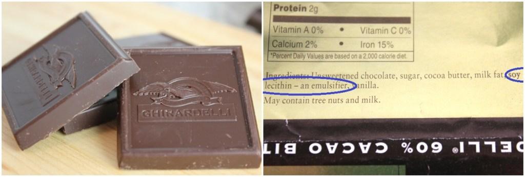 Chocolate & Ingredients
