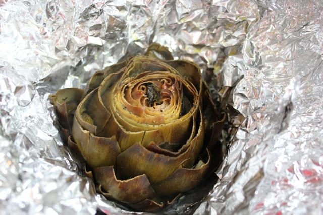 Artichoke - baked