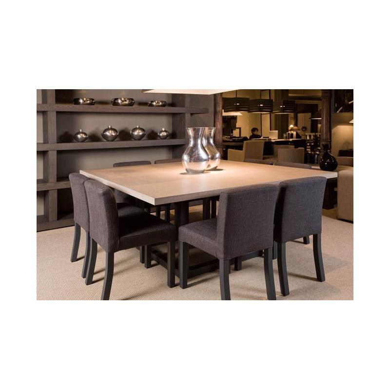 Table de salle  manger zoe carre 9 finitions ph collection  Dco en ligne Tables de salle