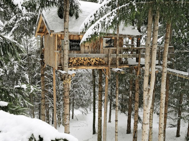 treehouse on ice