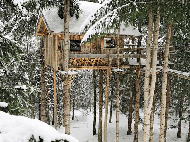 treehouse on ice