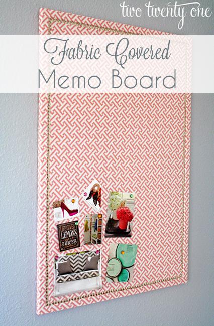 fabric-covered-memo-board