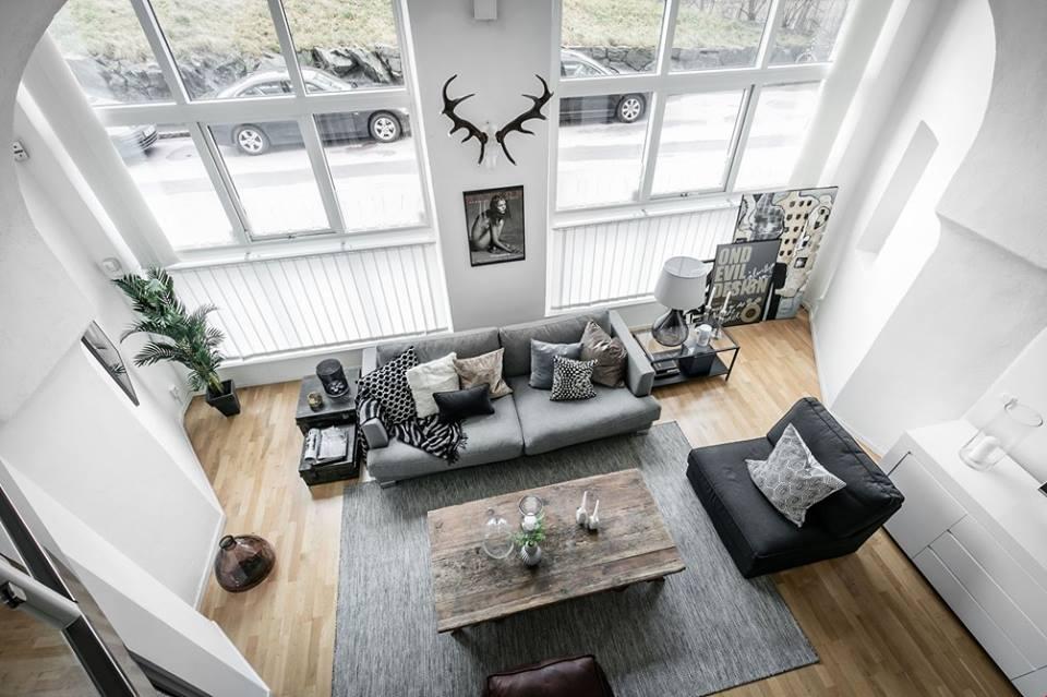 Αρρενωπό διαμέρισμα, με αέρα Σκανδιναβίας