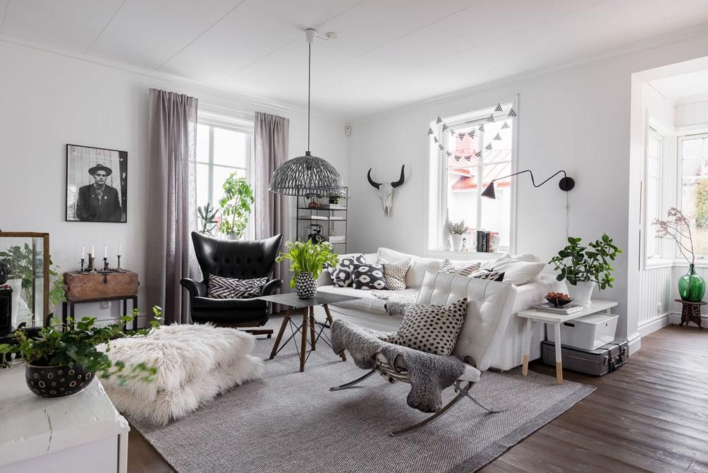 Σκανδιναβική ομορφιά σε σπίτι στη Σουηδία - Decofairy