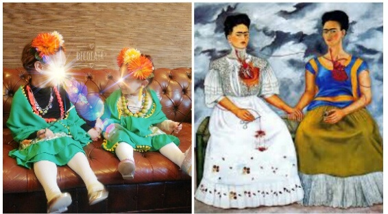 Αποκριάτικη μεταμφίεση: Frida Kahlo (ή αλλιώς η Φρίντα της καρδιάς μου χ2)