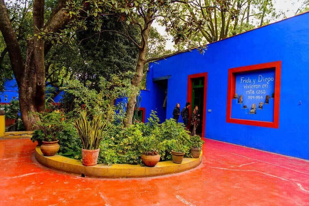 Casa Azul: το Μπλε σπίτι της Frida Kahlo
