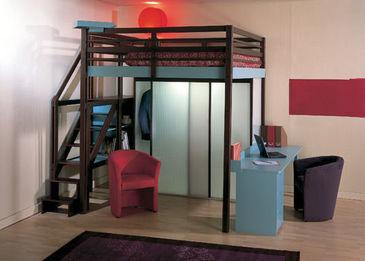 mezzanine bed  hoogslaper voor volwassenen  Bouwinfo