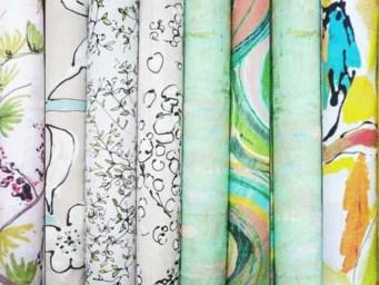 divers tissus rideaux passementerie