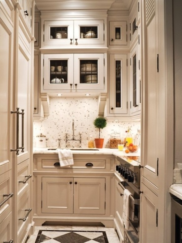 small-kitchen-design-with-elegant-white-kitchen-set-furniture-ideas