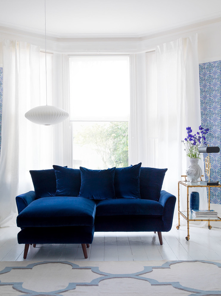 living room paint ideas blue couch home decor india for a more breathtaking decohoms sofa wall pattern flower on floor big window