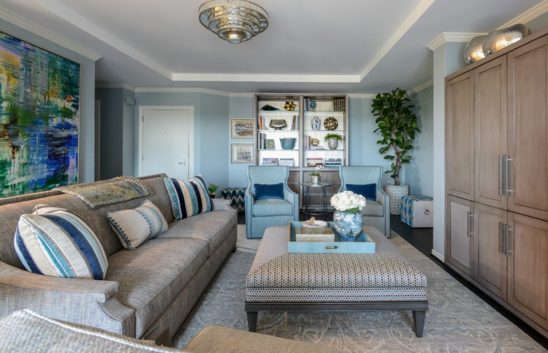 making your own sofa table replacement mattress for bed uk blue living room ideas a more breathtaking ...