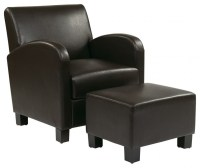 Durable Leather Club Chair and Ottoman Ideas For ...
