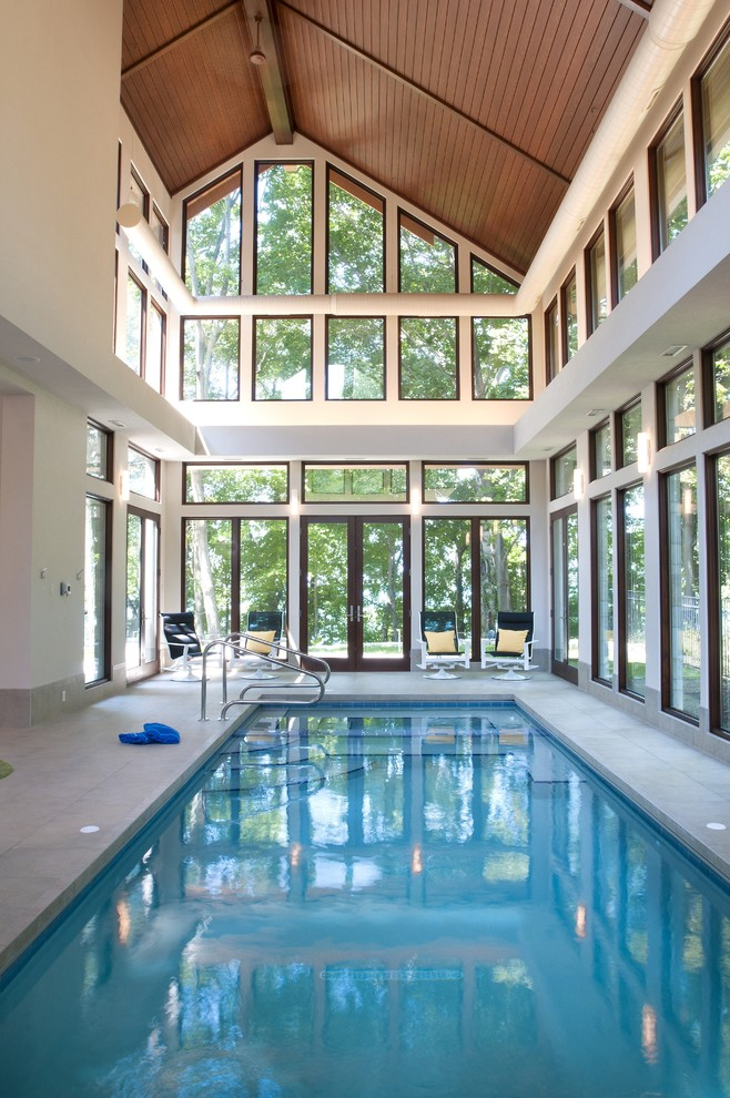Indoor Pool House to be Greatly Inspired By  Decohoms
