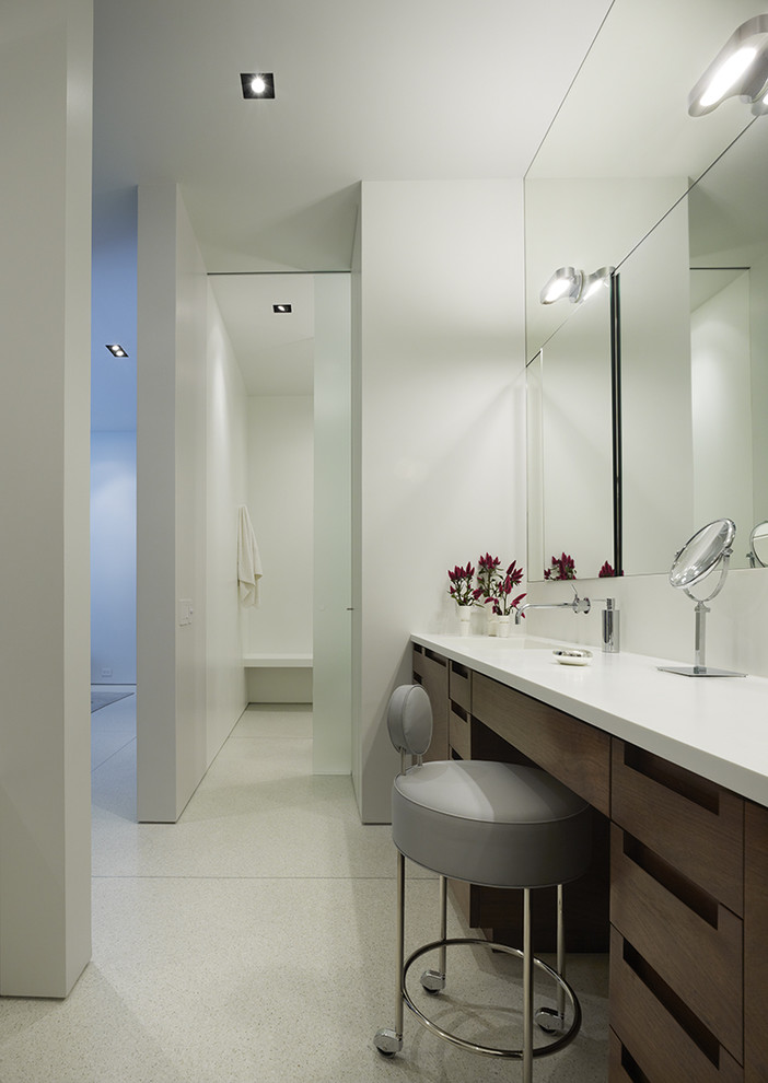 Modern Bathroom Lighting for a More Inviting Bathroom  Decohoms