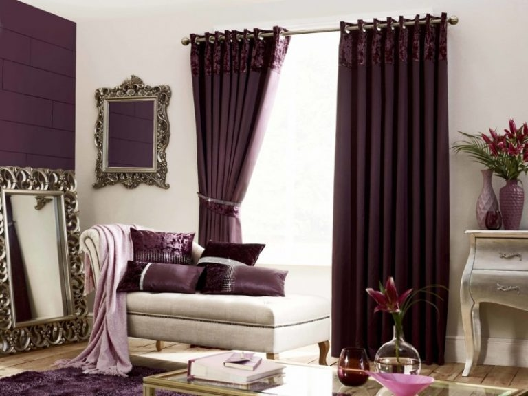 Purple Velvet Curtains Ideas To Every Parts Of A House Decohoms