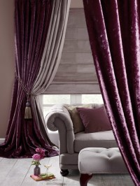 Purple Velvet Curtains Ideas to Every Parts of a House ...