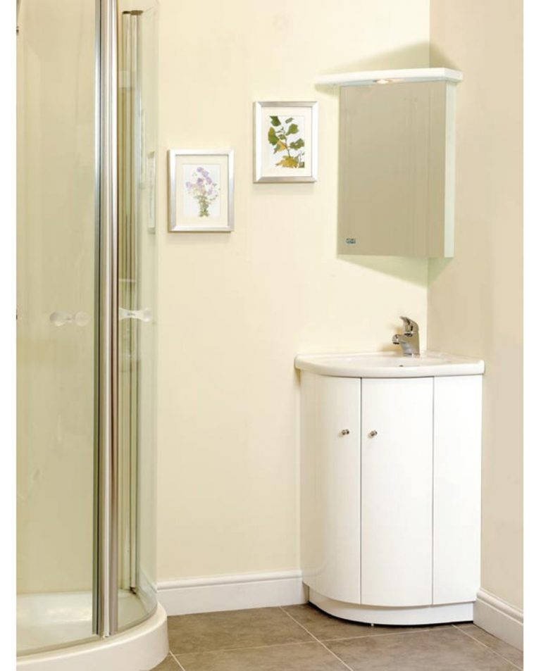 Corner Cabinet for Your Bathroom A Beauty to Save Space