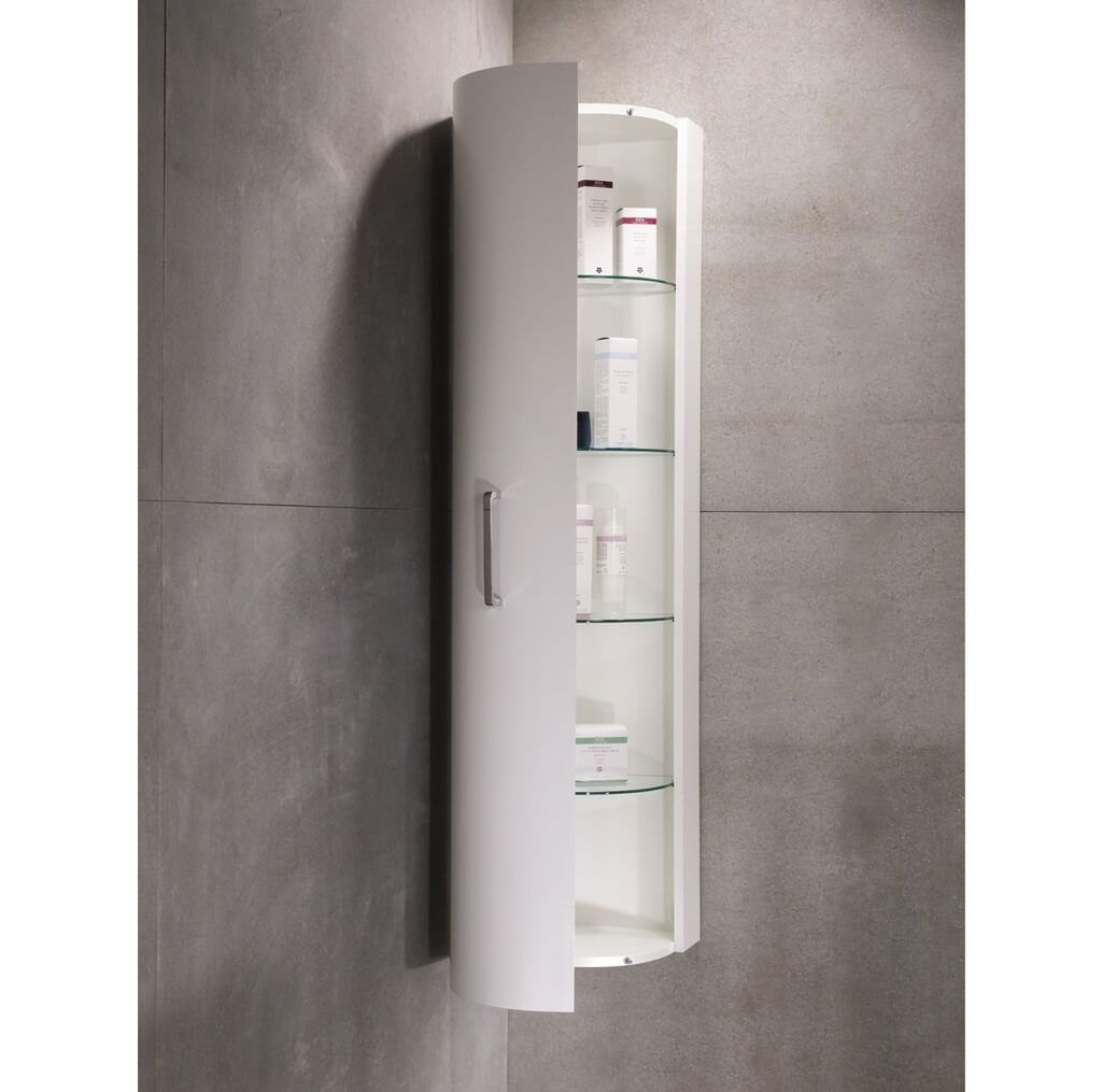 Corner Cabinet for Your Bathroom, A Beauty to Save Space