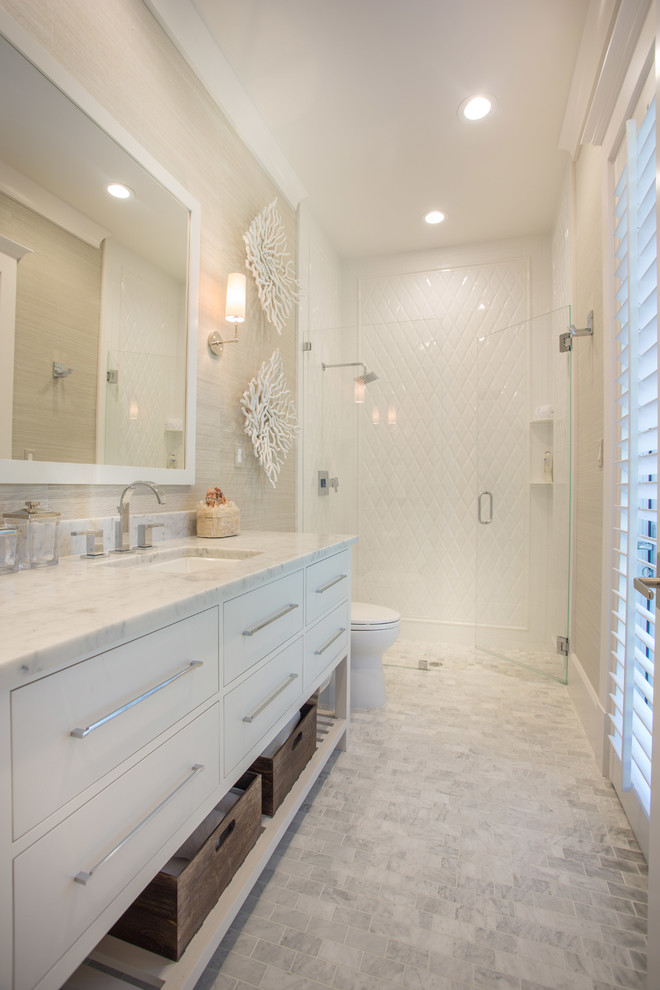 The Options Of Simple Amp Chic Tiled Bathroom Floors And
