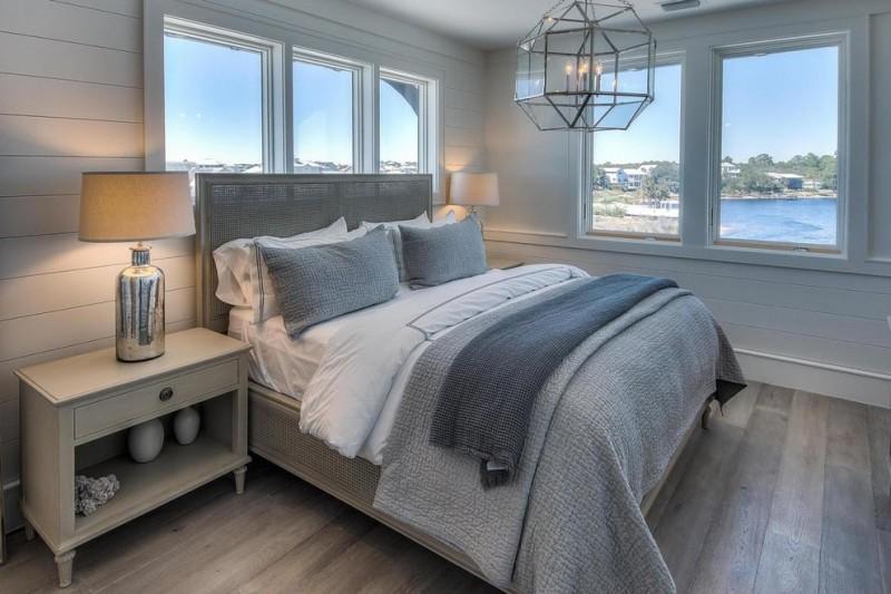 Good Sleep in a Beach Theme Bedroom  Decohoms