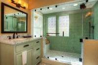 Craftsman Style Bathroom: Playing with Tiles and Natural ...