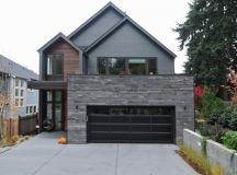 Ingenious Ideas of Dark Garage Doors | Decohoms