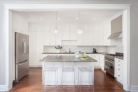 Great Grey Quartz Countertop White Kitchen Combo Ideas to ...