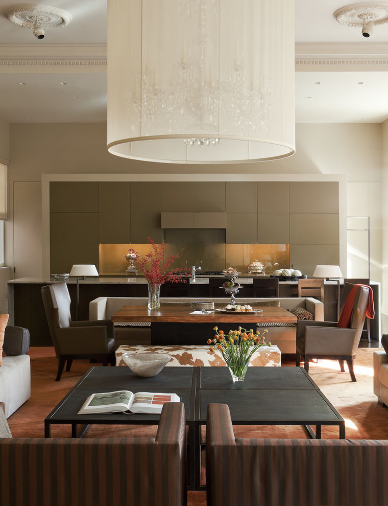 Awesome Combination of Dining Living and Kitchen to be
