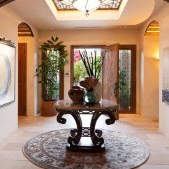 Feng Shui Living Room Colors 2017 Coastal Designs Favorite Round Entryway Table Ideas | Decohoms