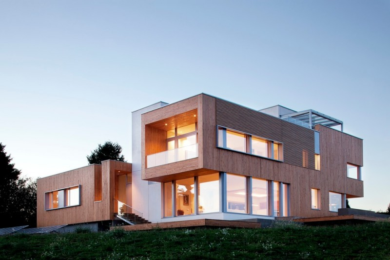 Cool Modern Simple Wooden House Designs to be Inspired By  Decohoms