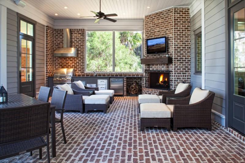 corner sofa outdoor dining set modern sectional bed inspirational four season porch ideas | decohoms
