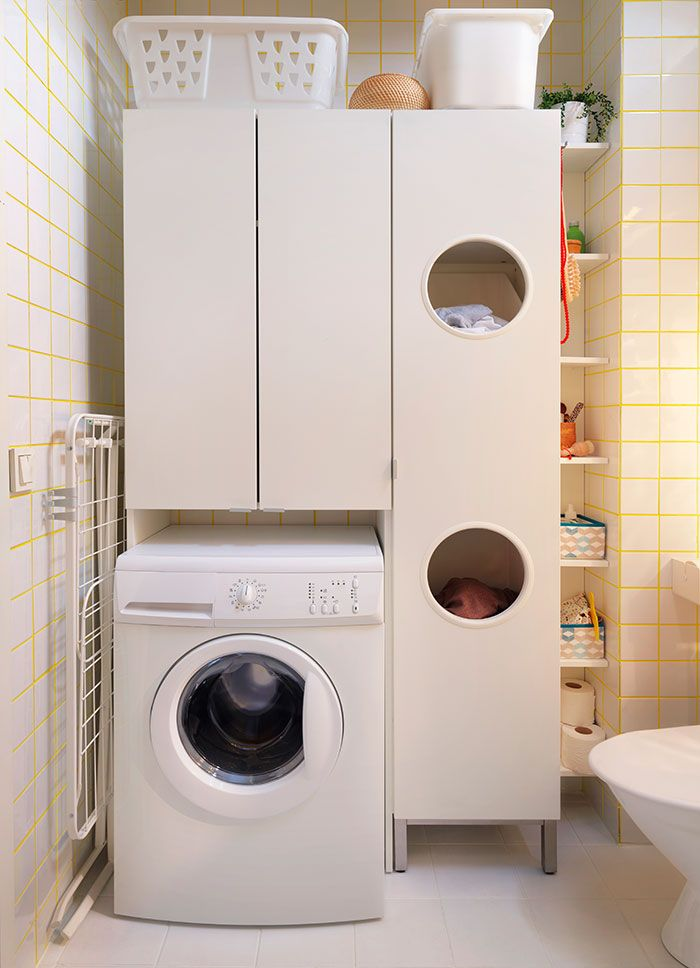 Inspiring Utility Cabinets for Laundry Room  Decohoms
